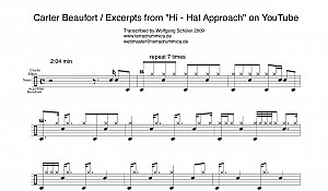 Carter Beaufort transcription