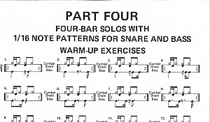 16th Notes Rock Pattern