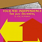 Four-way Independence for jazz drumming
