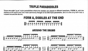 Triple Paradiddle Fills