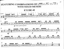 16th Notes Snare Etude