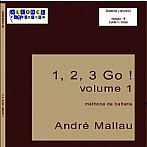 1,2,3 GO V.1 Book Cover