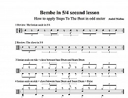 Bembe in 5/4 part 2