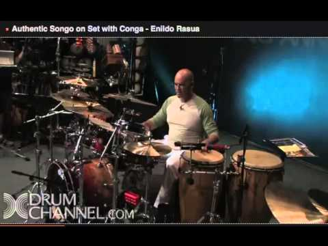 Authentic Songo on Drumset & Congas