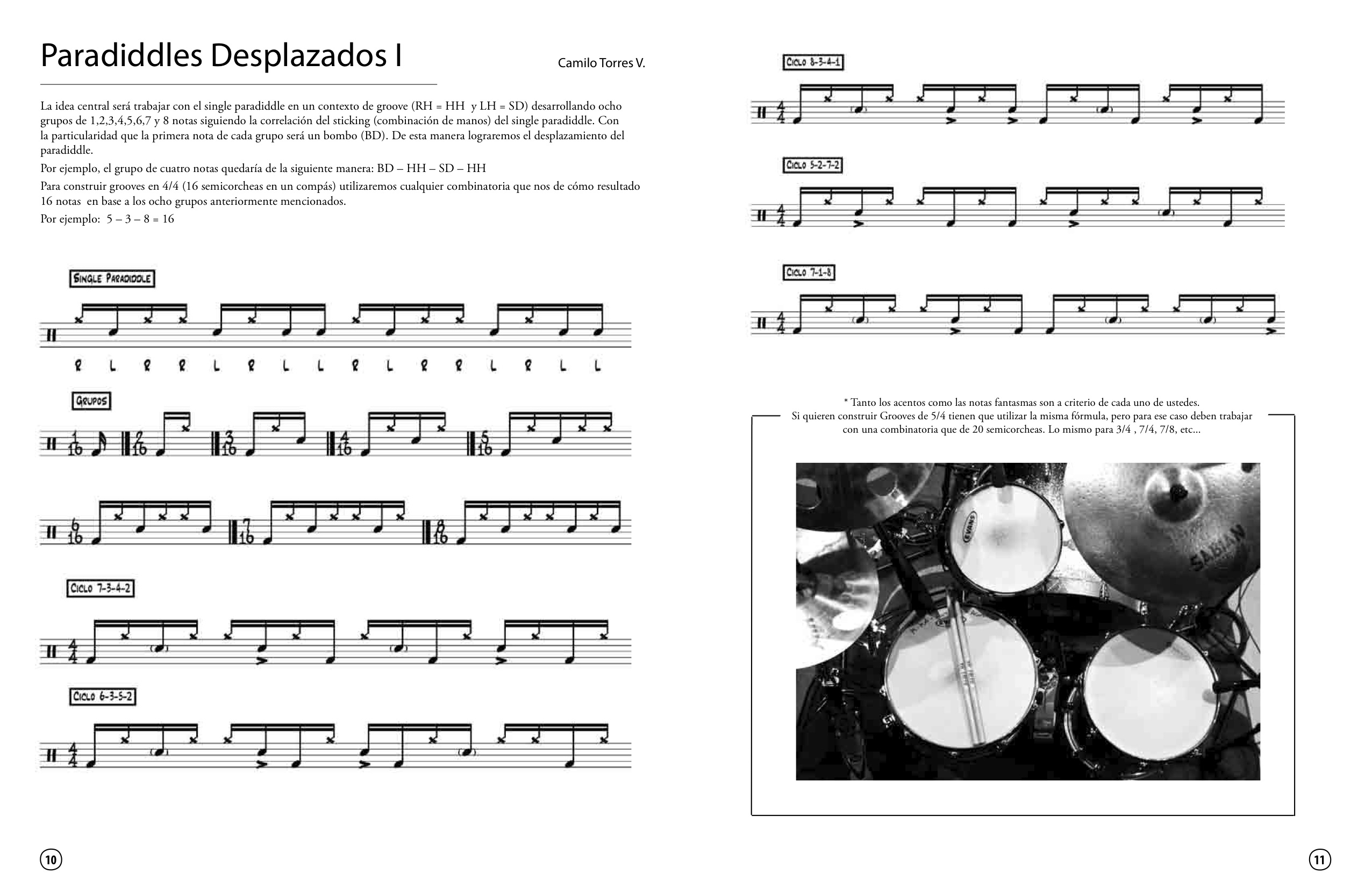 Master Class - Tips for Drummers FINAL Paradiddle 1
