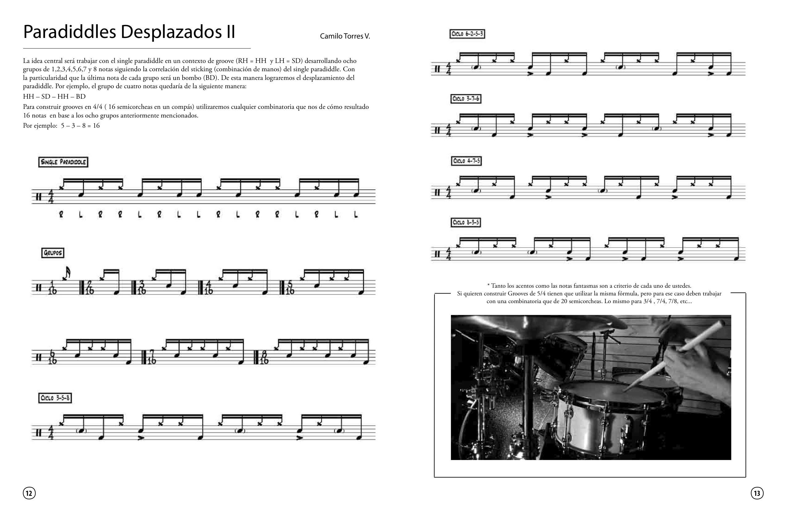 Master Class - Tips for Drummers FINAL Paradiddle 2