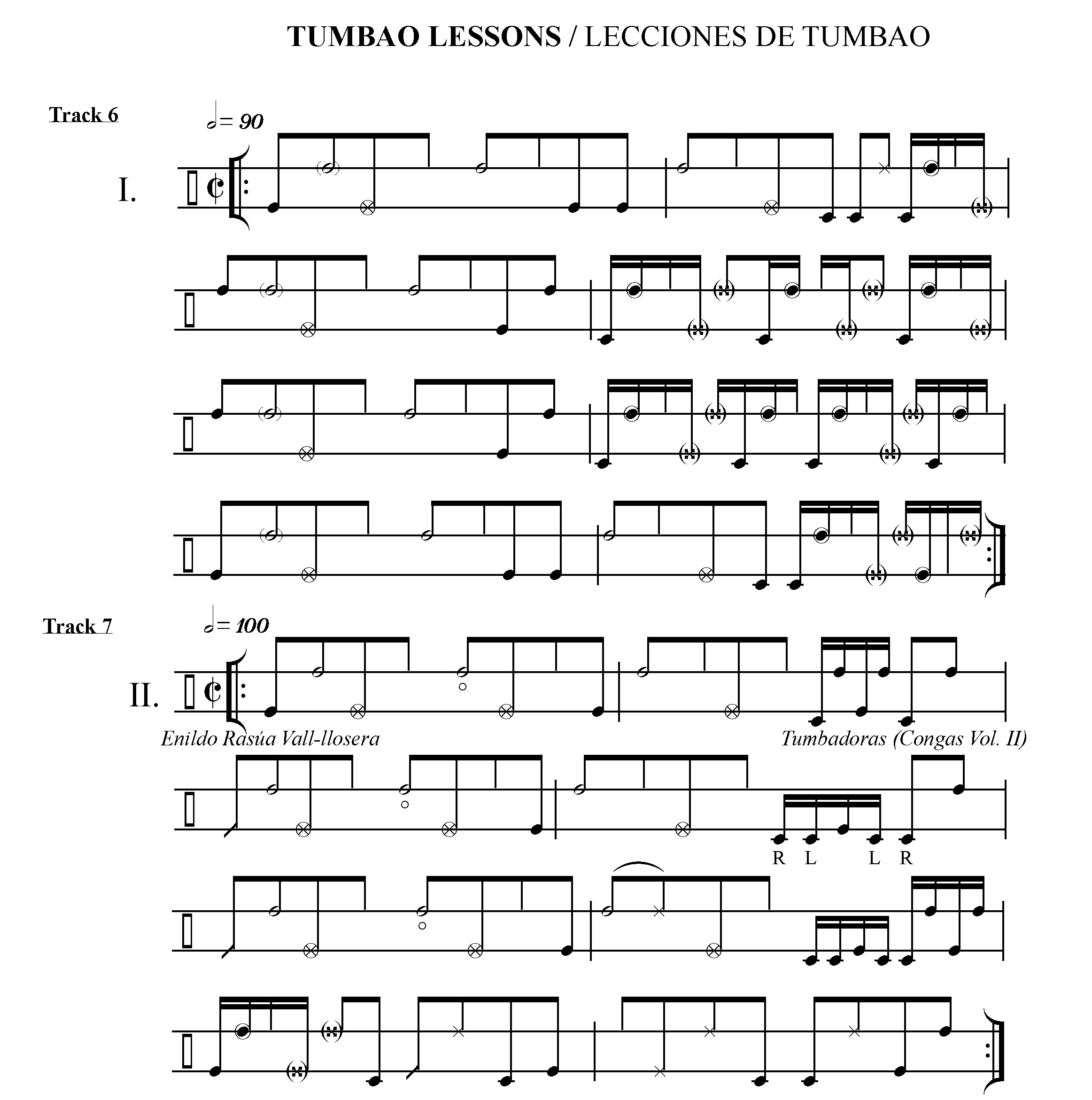 Vol. 2 Tumbao Lessons 1 &2